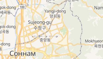 Соннам - детальная карта