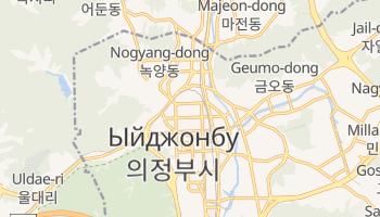 Ыйджонбу - детальная карта