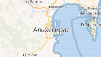 Альхесирас - детальная карта
