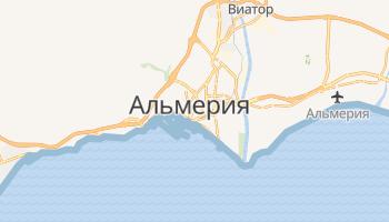 Альмерия - детальная карта