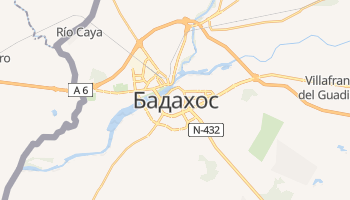 Бадахос - детальная карта