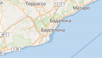 Барселона - детальная карта