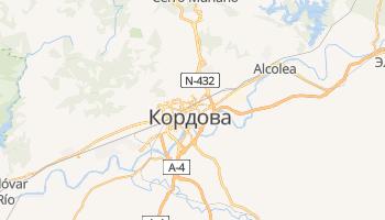 Кордоба - детальная карта