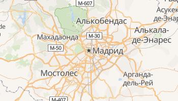 Мадрид - детальная карта