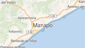 Матаро - детальная карта