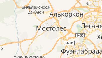 Мостолес - детальная карта