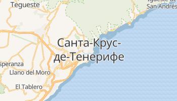 Санта-Крус-де-Тенерифе - детальная карта