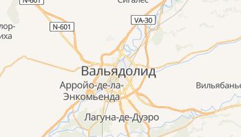 Вальядолид - детальная карта