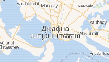 Джафна - детальная карта