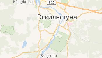 Эскильстуна - детальная карта