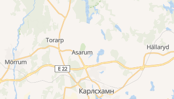Карлсхамн - детальная карта