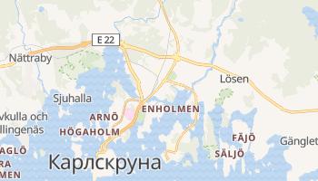 Карлскруна - детальная карта