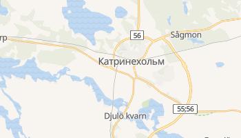 Катринехольм - детальная карта