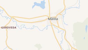Мелилья - детальная карта