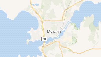 Мутала - детальная карта