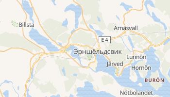 Эрншёльдсвик - детальная карта
