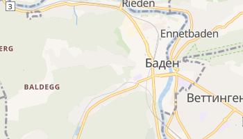 Баден - детальная карта