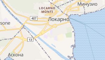 Локарно - детальная карта