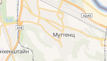 Муттенц - детальная карта