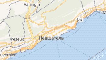 Нёвшатель - детальная карта