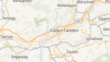 Санкт-Галлен - детальная карта