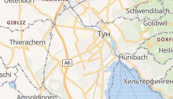 Тун - детальная карта