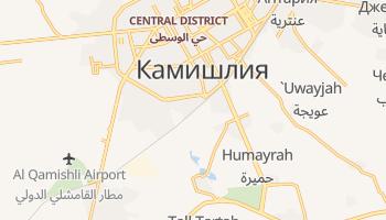 Эль-Камышлы - детальная карта