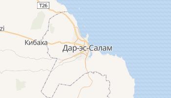 Дар-эс-Салам - детальная карта