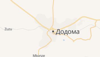 Додома - детальная карта