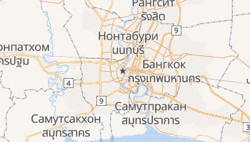 Бангкок - детальная карта