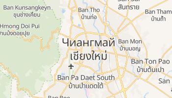 Чианг-Май - детальная карта