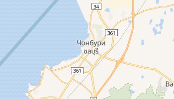 Чонбури - детальная карта