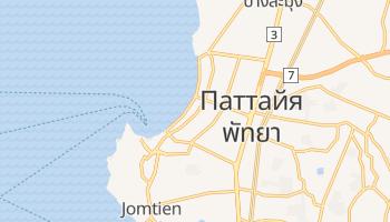 Паттайя - детальная карта