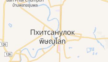 Пхитсанулок - детальная карта