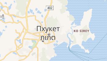 Пхукет - детальная карта
