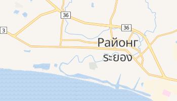 Районг - детальная карта