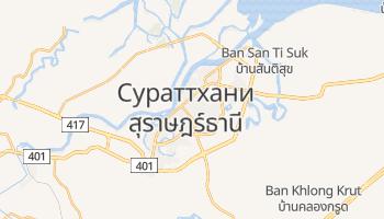 Сураттхани - детальная карта