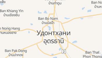 Удонтхани - детальная карта