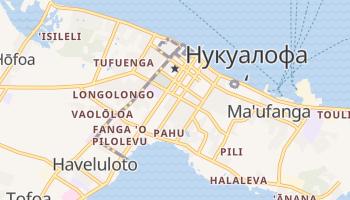 Нукуалофа - детальная карта