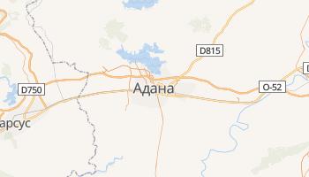 Адана - детальная карта