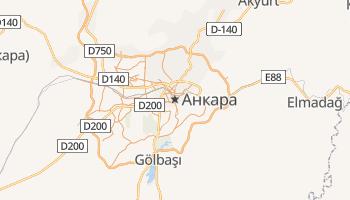 Анкара - детальная карта