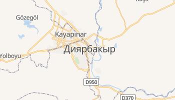 Диярбакыр - детальная карта