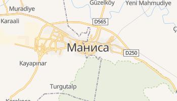 Маниса - детальная карта
