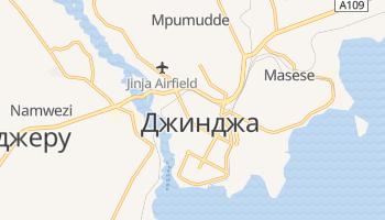 Джинджа - детальная карта