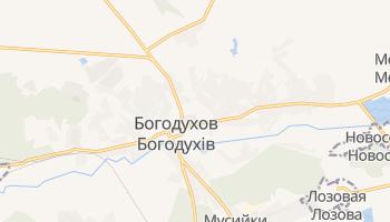 Богодухов - детальная карта