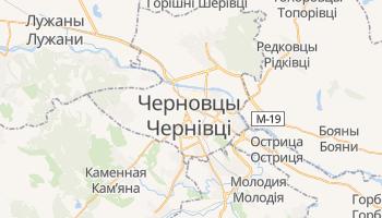 Черновцы - детальная карта