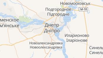 Днепропетровск - детальная карта