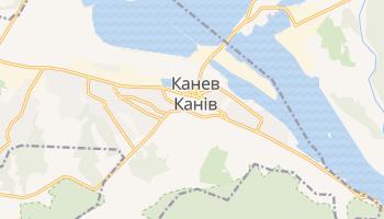 Канев - детальная карта