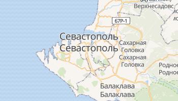 Севастополь - детальная карта