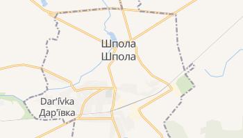 Шпола - детальная карта
